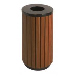 Abfallbehälter Holzoptik